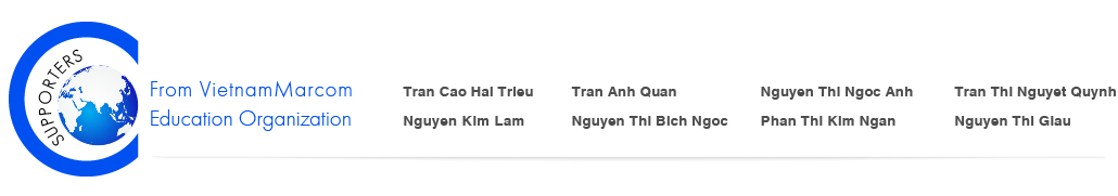 Supporters From VietnamMarcom Education Organization 2