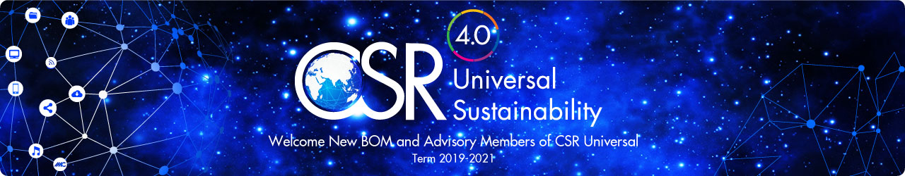 CSR Universal Welcome New BOM & Advisory Council